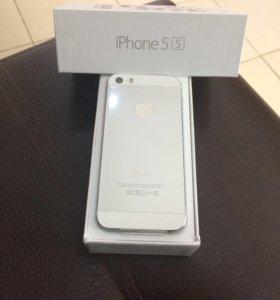 'iPhone' 5s Silver 16 gb новый/магазин/гарантия