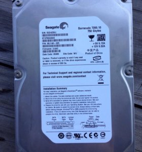 750 gb Seagate 3.5 hdd