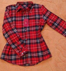 Рубашка женская. Флонель