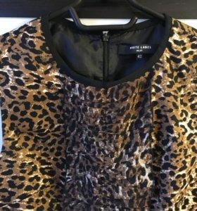 Леопардовое платье incity