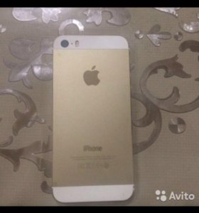 Продам телефон 5s iPhone Gold 64gb. 16 т .р.- торг