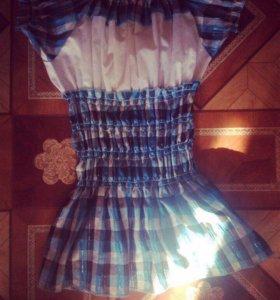 Платье, туфли, балетки, футболка