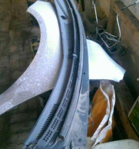 Жабо пластик под лобовым стеклом Kia cerato 2