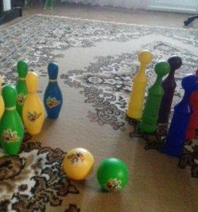 Игра боулинг