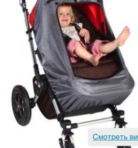 Snoozeshade шторка на коляску и автокресло