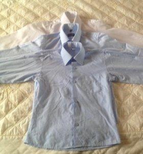 Рубашки школьные для мальчика.