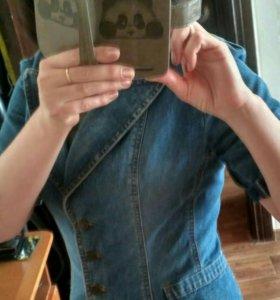 Пиджак (джинсовый)