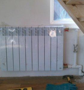 Монтаж систем отопления, водоснабжения, водоотведе
