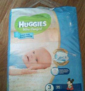 Подгузники Huggies 3