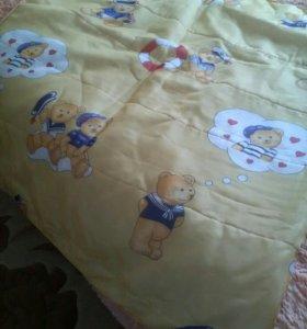 Покрывало на детскую кроватку.