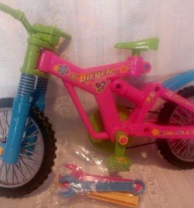 Велосипед-конструктор.Новый