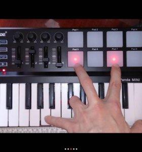 Новая миди клавиатура worlde panda mini