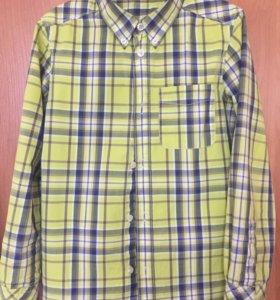 2 рубашки на мальчика Benetton