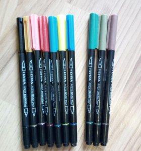 Lyra Набор цветных фломастеров Aqua Brush Duo