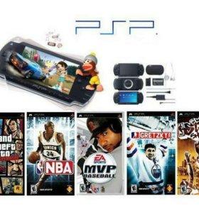Игры и прошивка на PSP