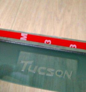 Козырек на боковые зеркала Tucson 2