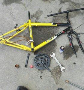 Рама велосипеда TechBike
