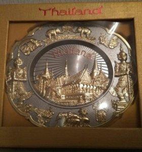Тарелка из Таиланда 12см на 14 см