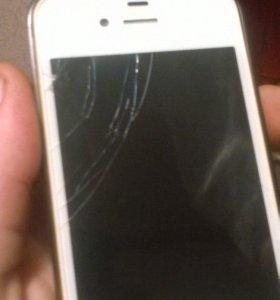 Айфон 4s, на 16