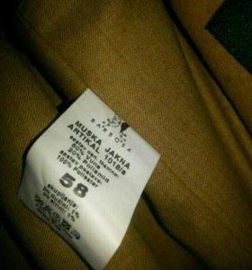Пальто мужское шерстяное размер 58