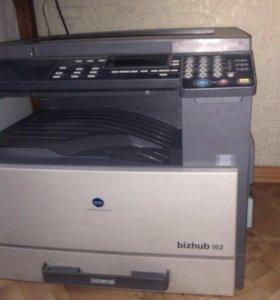 Продам лазерное МФУ 3в1 Konica Minolta, Bizhub 126