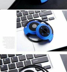 Наушники беспроводные bluetooth+ спинер