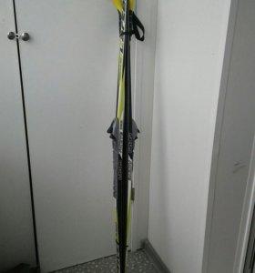 Лыжи с палками