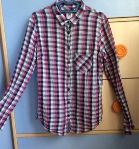 Рубашка в клетку из Cropp