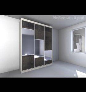 Шкафы-купе 4 под заказ от Фабрики мебели МАЛЬТА