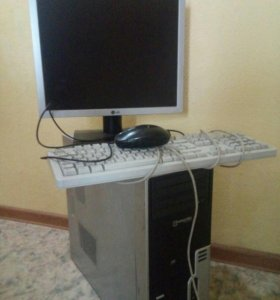 Монитор, клавиатура, мыш,