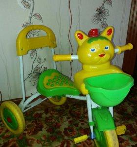 Музыкальный трехколёсный велосипед