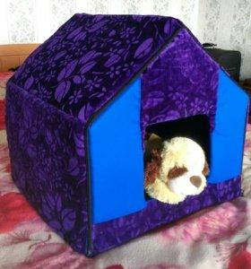 Домики для собак, котов и кошек