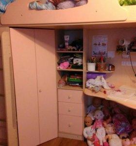 Кровать-кабинет
