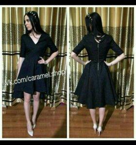 Черное платье 42-44