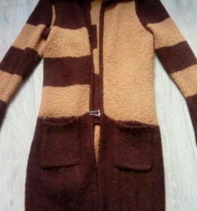 Пуловер + кардиган