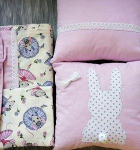 Детское постельное бельё на заказ