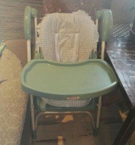 Качели и стульчик для кормления