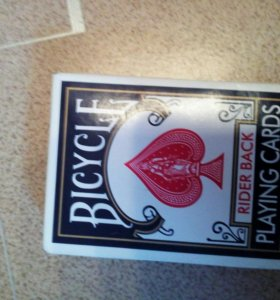 Покерные карты. Картон.