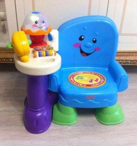 Музыкальный стульчик Fisher price