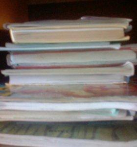 Учебники и рабочие тетради за 8-9 классы