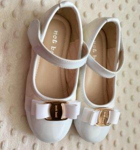 Туфли для девочки, новые , дочке не подошёл размер