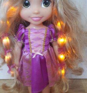 Рапунцель со светящимися волосами