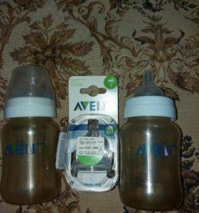 Соска и бутылочки Avent