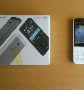 Смартфон Nokia 230 dual sim.