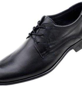 Туфли мужские классические 46 р. нат.кожа новые