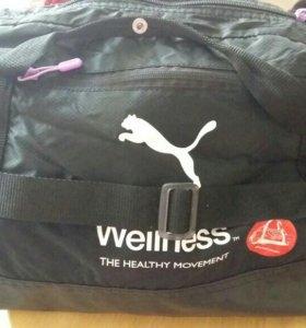 Спортивная сумка.
