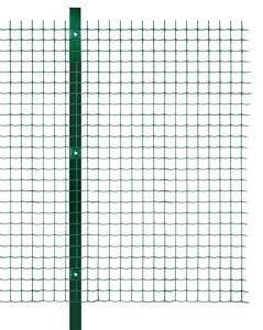 Рулонная сетка ( рабица с ПВХ покрытием) 25м.п.