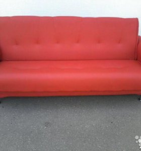 000101 новый диван книжка кожа от фабрики