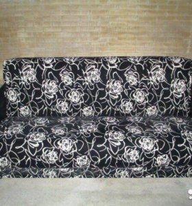 000103 новый диван книжка флок от фабрики