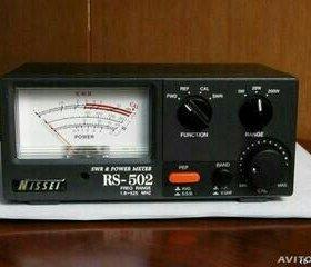 КСВ метр Nissei rs-502